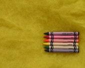 MAORI WOOL BATTING - Sun Yellow - wool fiber for needle felting and wet felting (approximately 1 ounce) - From Purple Moose Felting