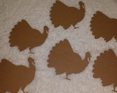 Thanksgiving Turkey Paper Cut-outs