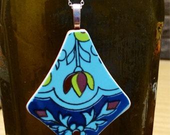 Indian terracotta pendant