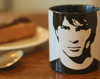 Tom Welling, Smallville, Superman, Hand Painted, Hand Printed cup