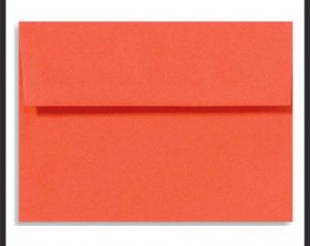 Coral Envelopes, Coral Envelopes, Coral Wedding Envelopes,  DIY Wedding invitations