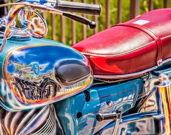 Zundapp Super Sabre Motorcycle- Fine Art Photograph Print Picture