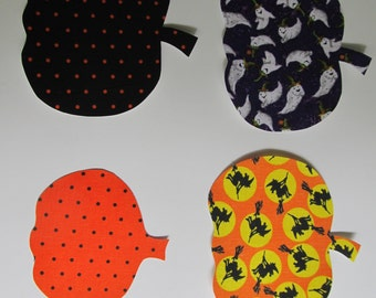 Halloween Pumpkin Iron on Applique for Baby or Kids Halloween Tees