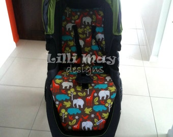Baby Jogger City Mini GT or City Mini Pram Liner//You Pick The Fabric // HYPOALLERGENIC
