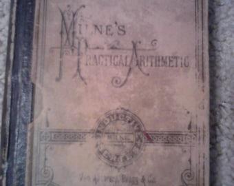 1878 Milne's Pracitcal Arithmetic