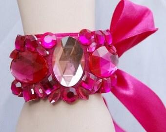 Bridal bracelet Pinkorina