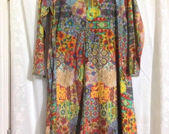 Vintage hippie tunic hand made