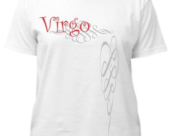Virgo Zodiac Shirt - Virgo Tee Shirt - Astrology Shirt - Horoscope Shirt