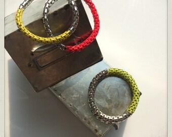 Funky Shaun vibrant lucky bracelets