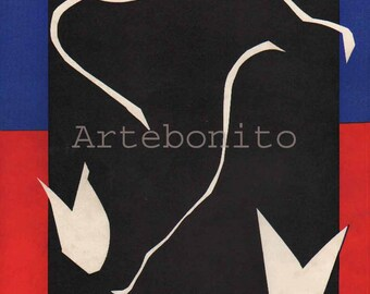 Henri Matisse Lithograph for Verve 1937
