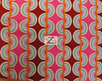 "Sugar Snap Jellyfruit By Westminster Fibers 100% Cotton Fabric - 45"" Width Sold By The Yard (FH-970)"