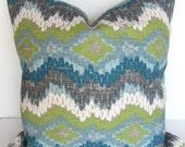 PILLOW COVER Decorative Throw Pillows Teal Lime Green Euro Shams 22x22 24x24 26x26 Pillows Navy Blue Throw Pillow Gray Dark Blue Home Decor