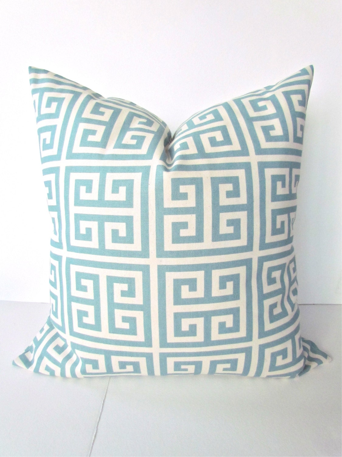 Blue PILLOWS BLUE Throw Pillow Covers Spa Blue Throw Pillows