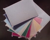 SET OF  12   14ct Aida  6in x 4in  all different  colour edged Ideal for card making