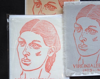 Cloth Card portrait Virginia Lee Burton