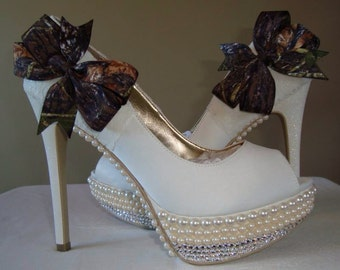 Camo Wedding shoes