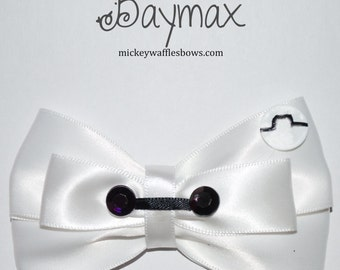 Baymax Hair Bow