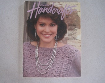 Country Handcrafts Magazines five issues from 1987