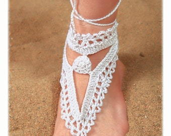 Jewelry Sets Foot and Hand White