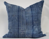 Indigo Pillow Cover 20x20 - Oh Sherrie