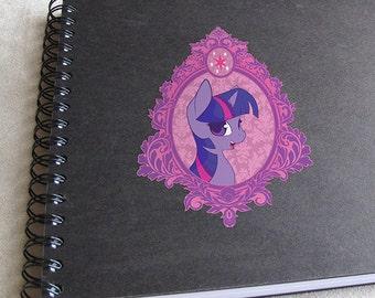 Vintage Princess Twilight Sparkle Vinyl Decal
