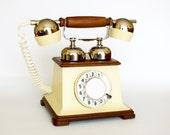 Rare Vintage dial rotary telephone Retro from Soviet era. NOS