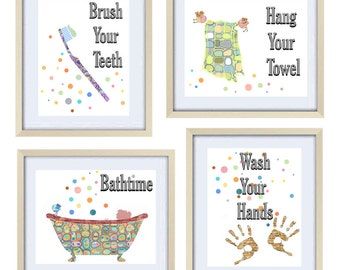 bathroom rules, bathroom sign, bathroom signs, kids bathroom art bathroom manners kids bathroom wall art wash your hands kids bathroom decor
