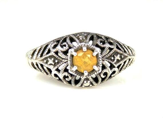 Silver Ring Marked Tt