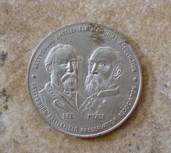 1963 Commemorative Coin Gettysburg Battlefield Memorial