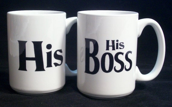 Wedding Gift For Bosss Daughter : ... His Boss Coffee Cups wedding gifts, birthday gifts, christmas gifts