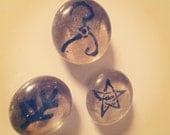 H.P. Lovecraft Elder Sign Magnets