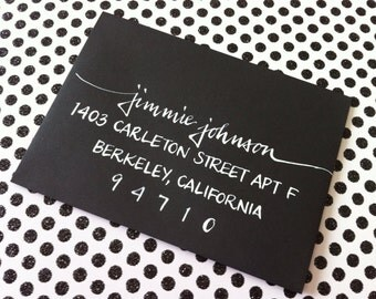 ESTHER : Custom Wedding Calligraphy Envelope Addressing