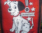 101 Dalmatians 101 Dalmatians Crib Quilt Dog Crib Nursery Bedding Dog Toddler Bedding Disney Classic 101 Dalmatians Dog Baby Shower
