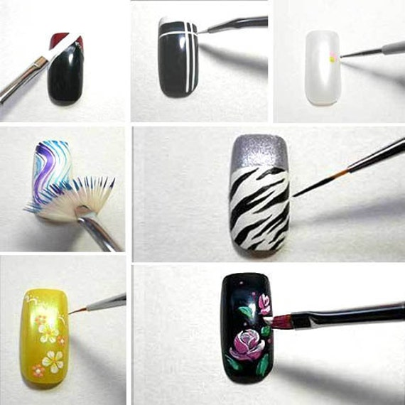 Details About Nail Art Design Pen Brush Painting Dotting