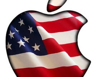 colorful apple logos. Translucent American Flag Apple LED Logo Overlay MacBook Pro Custom Class Mac Book Colorful Logos