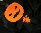 Mr Pumpkin head - keyring