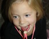 Chewable Necklace, focus fidget, tubing, teething, sensory, Aspergers, autism, ADHD, special needs, break away necklace