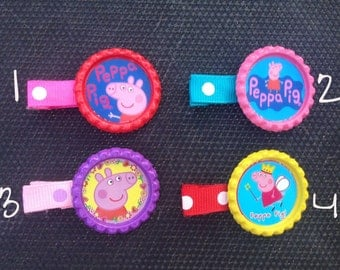Peppa Pig Hair Clips