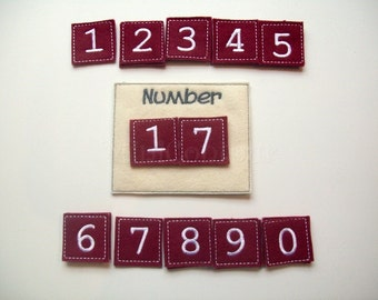 Eco-Friendly Number Chart Learning numbers numbers game