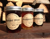 Fall 3 pack Beer & Wine Jelly, Vermont Crafted