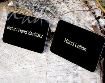"""2.5"""" x 1.5"""" Laser Engraved Name Plate Personalized"""