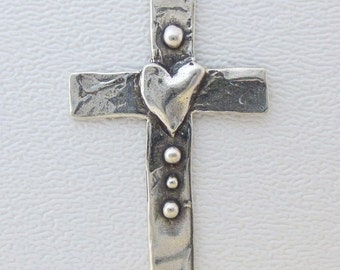 ONE Cross Pendant - Faith and Love