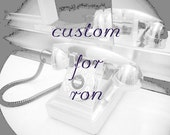 Custom Listing for Ron