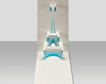 Eiffel Tower pop-up