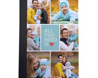 Add Your Own Photos With All You Need Is Love Folio Case For The iPad Mini