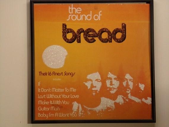 Glittered Record Album - Bread - The Sound of Bread