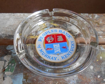 1970's Ashtray - People's Bank Of Murray, KY