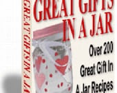 Great Gifts In A Jar Recipe Cookbook Digital PDF Instant Download