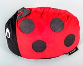 Childrens Animal Character Bean Bag - Larry the Ladybird