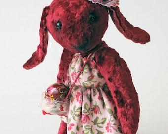 "Artist teddy bears - bunny  ""Monarda"""